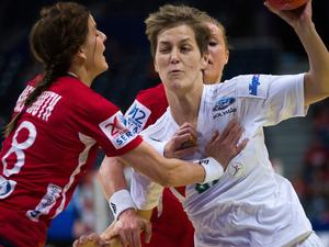 Norvég-Magyar női kézilabda EB 2012