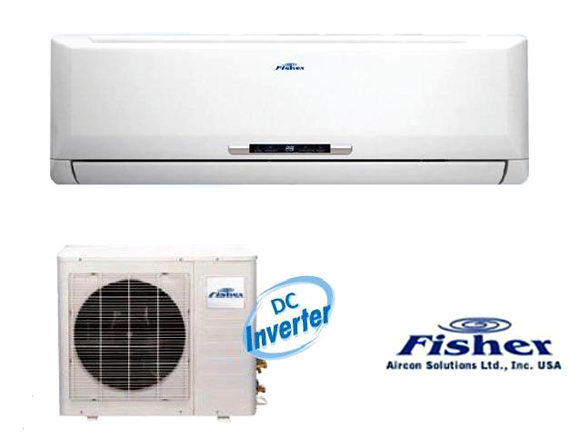 Fisher inverteres klíma 6 év garanciával