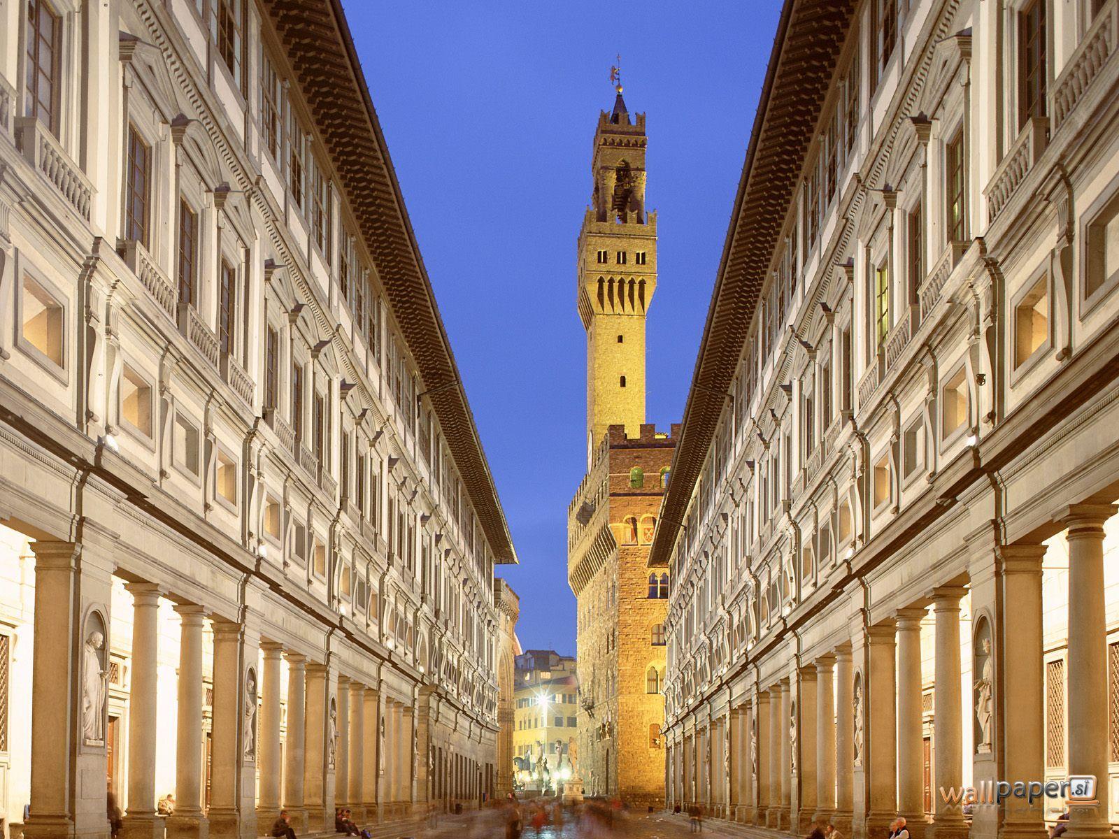 Uffizi képtár Firenze
