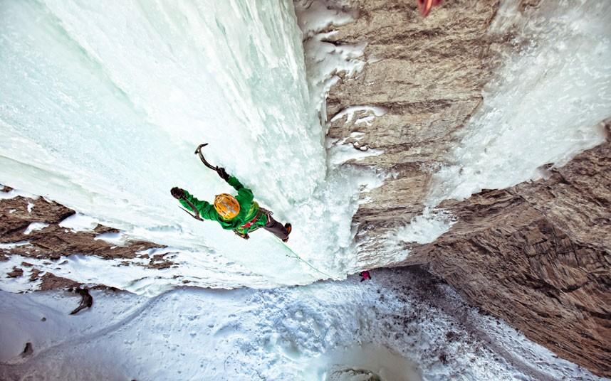 Jégfalmászás