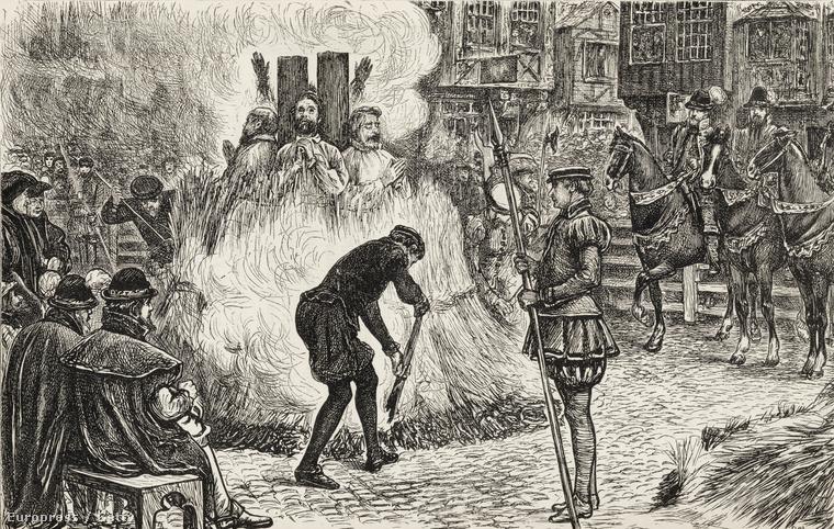 Máglya inkvizíció