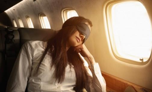 Alvás repülőn
