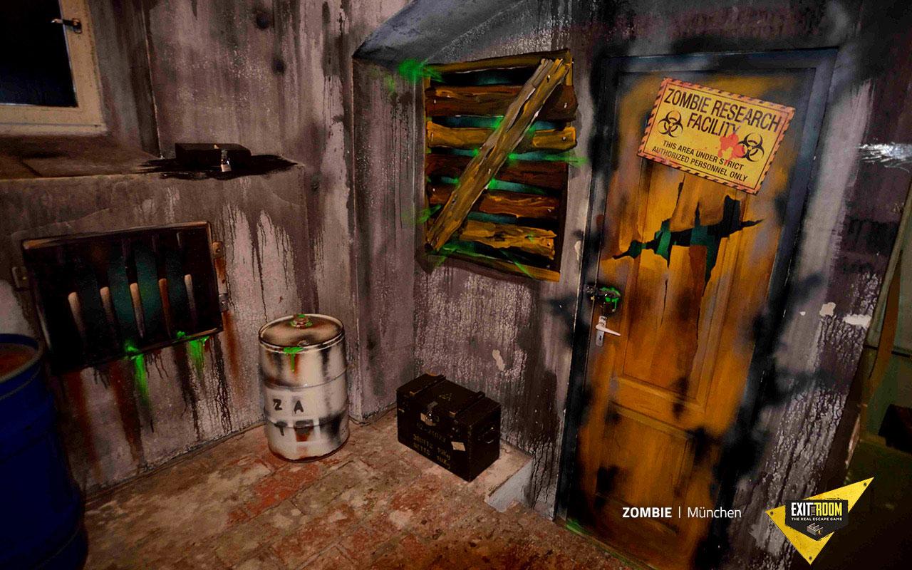 Zombie szabadulószoba Budapest