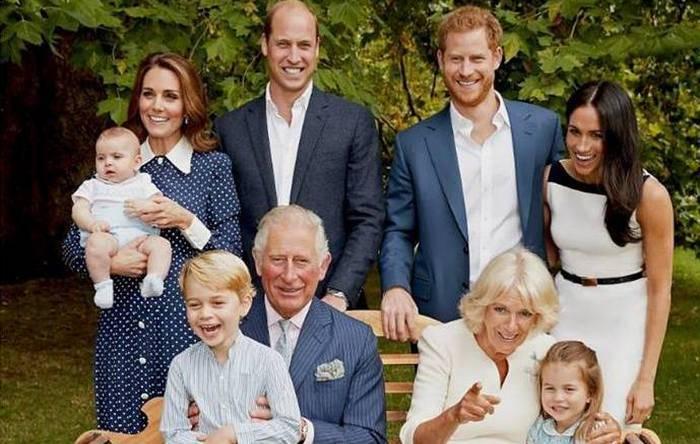 Angol királyi család