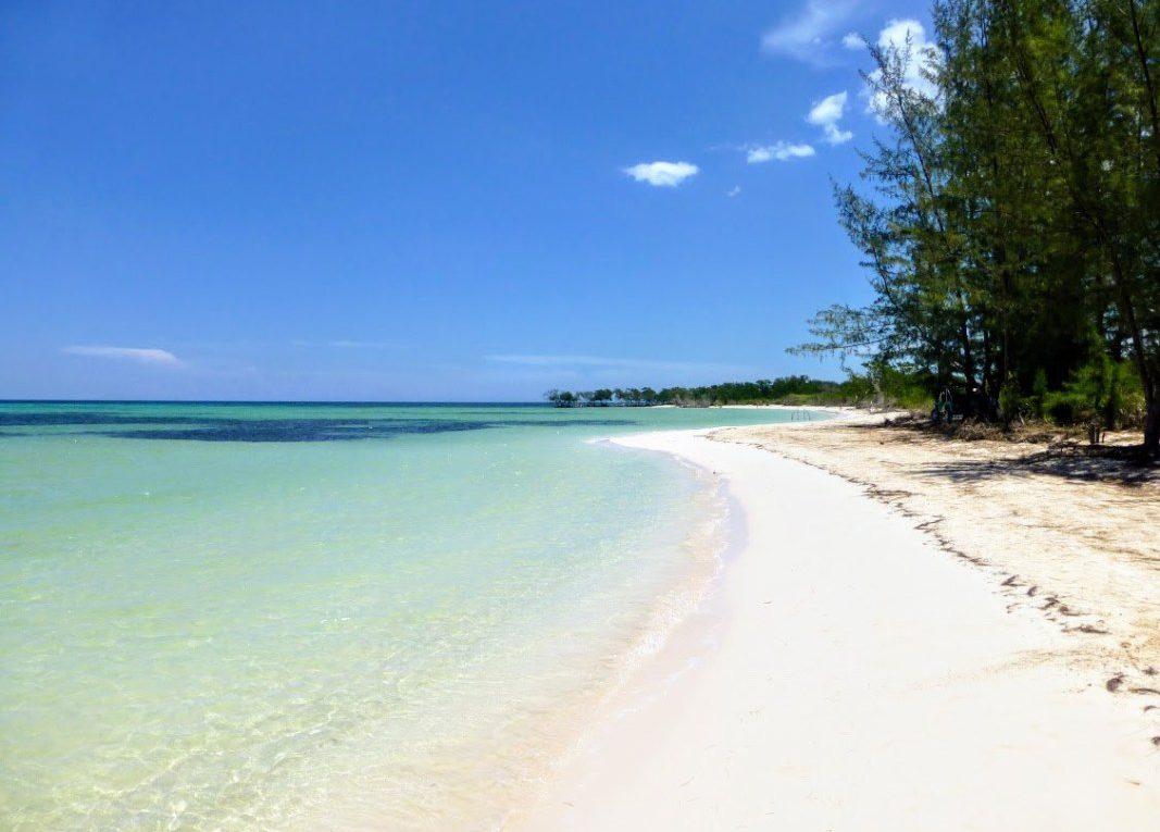 Cayo Jutias tengerpart (Kuba)
