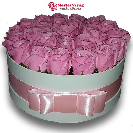 Szappan rózsa