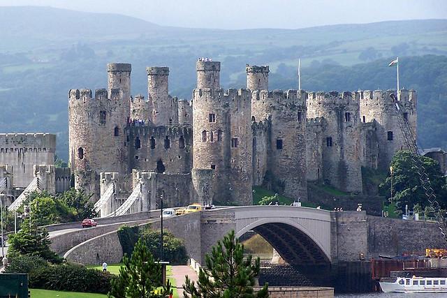 Wales kastély