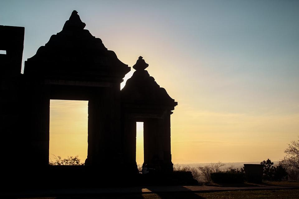 Ratu Boko templom